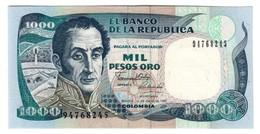 COLOMBIA1000PESOS01/01/1990P432UNC.CV. - Colombie