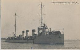 CACCIATORPEDINIERE POLA FOTO GIACOMELLI VENEZIA - Guerra
