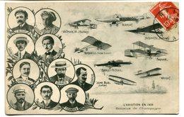 CPA - Carte Postale - Aviation En 1909 - Semaine De Champagne - 1909 ( I11193) - Fliegertreffen
