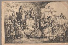 C. P. A. - MŒURS ET COUTUMES DE L'ANCIEN PARIS - RÉPRESSION DE LA DÉBAUCHE VERS 1780 - LA DÉSOLATION DES FILLES DE JOYE - France