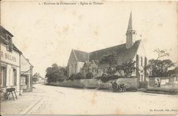 28  -  Environs  De  Chateauneuf  -  Eglise  De  THIMERT  /  Automobile - Autres Communes