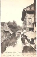 Dépt 14 - LISIEUX - Vue Sur L'Orbiquet, Rue De Livarot - (Édit. Maurice DUVEY, Lisieux - ND N° 59) - Lavoir, Laveuses - Lisieux