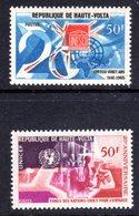 UPPER VOLTA - 1966 UNESCO & UNICEF ANNIVERSARY SET (2V) FINE MNH ** SG 205-206 - Upper Volta (1958-1984)