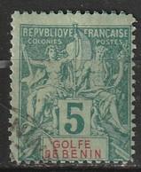 Bénin N° 23 - Benin (1892-1894)