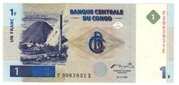 CONGO1FRANC01/11/1997P85UNC.CV. - Congo