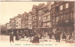 Dépt 14 - LISIEUX - Le Marché à La Vaisselle, Place Victor-Hugo - (LL N° 95) - Magasin F. DUTERTRE - Lisieux