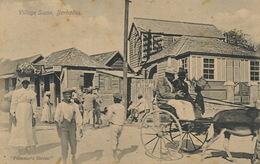 Barbados  Village Scene Plimmer's Stores - Barbades