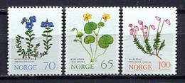 Norway 1973 Noruega / Flowers Plants MNH Flores Blumen Fleurs / Cu3030  38-51 - Vegetales