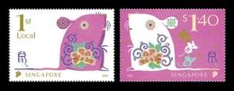 Singapore 2020 Mih. 2647/48 Lunar New Year. Year Of The Rat MNH ** - Singapur (1959-...)