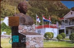 ANTILLES NEERLANDAISES - SATEL  -  SABA   -  NAFL 17.50 - Antillas (Nerlandesas)