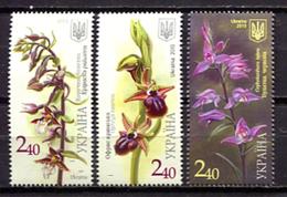 Ukraine 2015 Ucrania / Flowers Orchids MNH Flores Fleurs Blumen / C10729  38-50 - Vegetales