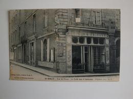 35.Saint-Malo,rue De Dinan,le Café Des 4 Saisons.pub Vichy-Quina - Saint Malo