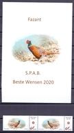 Belgie - 2019 - OBP  - **  Duostamp Fazant - S.P.A.B. -  A. Buzin ** Met Foto - 1985-.. Birds (Buzin)