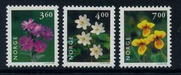 Norway 1999 Noruega / Flowers MNH Flores Blumen Fleurs / Q32  38-32 - Vegetales
