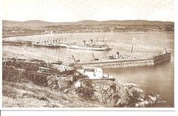 I.O.M. - General View Of Douglas Bay Harbour & Breakwater - Postcard - Isle Of Man Postcard - Isle Of Man