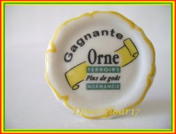 Clamecy .. Assiette Orne Gagnante .. Ref AFF : ( Boite 6) - Antiguos