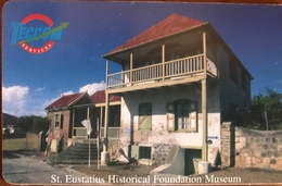 ANTILLES NEERLANDAISES - St EUSTACHE - Simon Doncker House  -  NAF : 36.00 - Antillen (Nederlands)