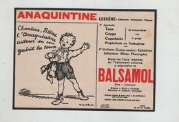 Publicité 1934 Anaquintine Lescène Balsamol Titine Poulbot Paris - Publicités