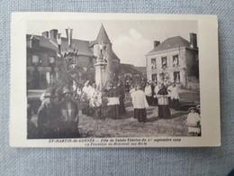 SAINT (st) MARTIN DE CONNEE Fete De Ste Therese 1 Septembre 1929 - France