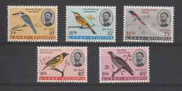 Ethiopie 1966 Oiseaux Série PA 94-98 5 Val ** MNH - Etiopia