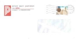 1995 £750 FIRENZE MEDAGLIA D'ORO BUSTA ARREDI SACRI PIETROBON UDINE - 1991-00: Marcofilie