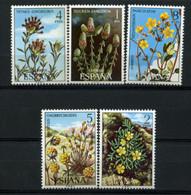 Spain 1974 España / Flowers MNH Blumen Flores Fleurs / 0091  38-41 - Vegetales