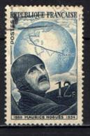 FRANCIA - 1951 - IN MEMORIA DELL'AVIATORE MAURICE NOGUES - USATO - Francia