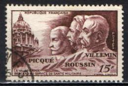 FRANCIA - 1951 - IN ONORE DELLA SANITA' MILITARE - USATO - Francia