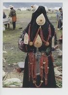 Asie : Tibet - Femme Nomade D'Amdo Portant La Coiffure Traditionnelle  (Maison Du Tibet Cp Vierge - Lassale) - Tibet