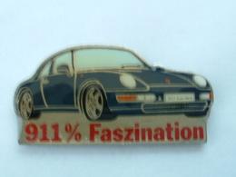 Pin's PORSCHE 911 CARRERA - 911% FASZINATION - Porsche