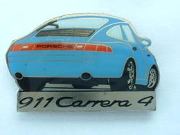 Pin's PORSCHE 911 CARRERA 4 - Porsche