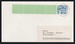 Rollenmarken-Endstreifen Mit MiNr. 918 A I Auf Auslandsbrief Von MÖNCHENGLADBACH Nach LINZ Österreich - Rolstempels