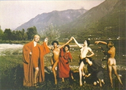 """Carte Postale (grand Format) édition """"Dix Et Demi Quinze"""" - Les Utopistes De Monte Verità (1914) Centre Culturel Suisse - Publicité"""