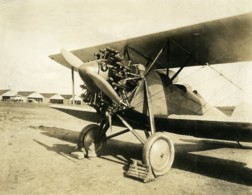 France Aviation Avion Biplane Moteur Ancienne Photo 1930 - Aviation