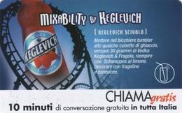 *CHIAMAGRATIS - N.314 - VODKA KEGLEVICH* - Scheda NUOVA (MINT) (DT) - Italia