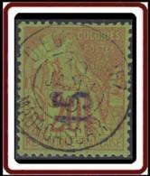 Diégo-Suarez - N° 04 (YT) N° 1 (AM) Oblitéré. - Diego Suarez (1890-1898)
