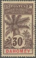 Dahomey 1906-1907 - N° 25 (YT) N° 25 (AM) Oblitéré. - Dahomey (1899-1944)
