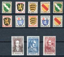 Allemagne   All. Aus.     Y&T    1  - 13     X     ---   Mi   1 - 13    --    TB - Franse Zone