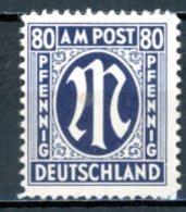 Allierte Besetzung / Bizone    Y&T    19    XX   ---   Mi   34   ---   Deutscher Druck  --  MNH - Amerikaanse-en Britse Zone