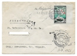 Antarctique. Russie. URSS. Base Mirny. 01.01.58 Mirny (2). Arrivee Leningrad 23.02.58 - Non Classés