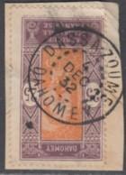 Dahomey 1912-1944 - Dassa-Zoume Sur N° 63 (YT) N° 62 (AM). Oblitération De 1932. - Oblitérés