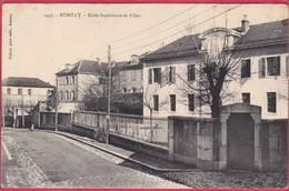 CPA 74 RUMILLY école Supèrieure De Filles - Rumilly