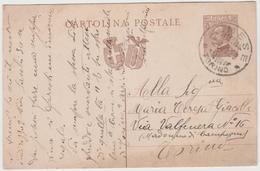 8607.  Cartolina Postale Intero - Almese - 1929 - 1900-44 Victor Emmanuel III