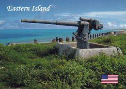 1 AK Midway-Atoll / Eastern Island * Ein Außengebiet Der USA Im Nördlichen Pazifik - Kriegsgerät Aus Dem 2. Weltkrieg * - Midway