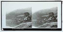 Glass Stereoview - View On Loch Lomond SCOTLAND - Stereoscopi