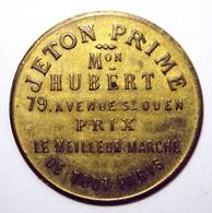 Jeton Prime Maison HUBERT - Vins De La Maison JONINON - Monetari / Di Necessità