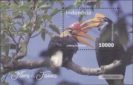 Indonesia - Indonesie Rhyticeros Cassidix Fauna. Bird- 05-11-2018(SS) MNH - Indonesia