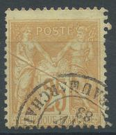Lot N°51956  N°92, Oblit Cachet à Date De PARIS BT BEAUMARCHAIS - 1876-1898 Sage (Type II)