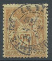 Lot N°51959  N°92, Oblit Cachet à Date De LE HAVRE, SEINE INFERIEURE - 1876-1898 Sage (Type II)