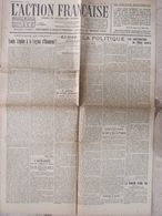Journal L'Action Française (14 Oct 1922) Louis Lépine à La Légion D'honneur - Hôtel Astoria - 1950 à Nos Jours